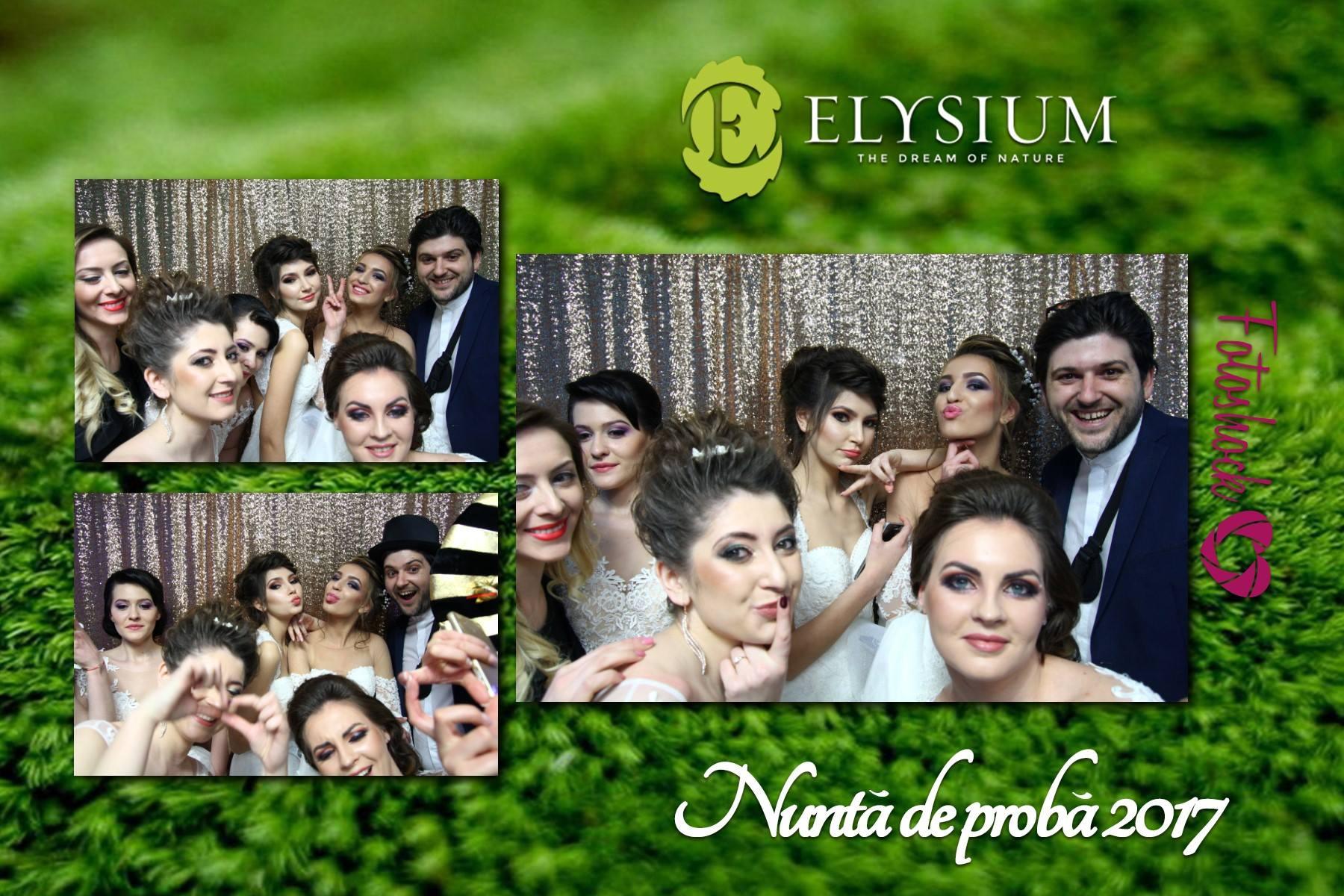 cabina foto Iasi Fotoshock la nunta de proba Elysium